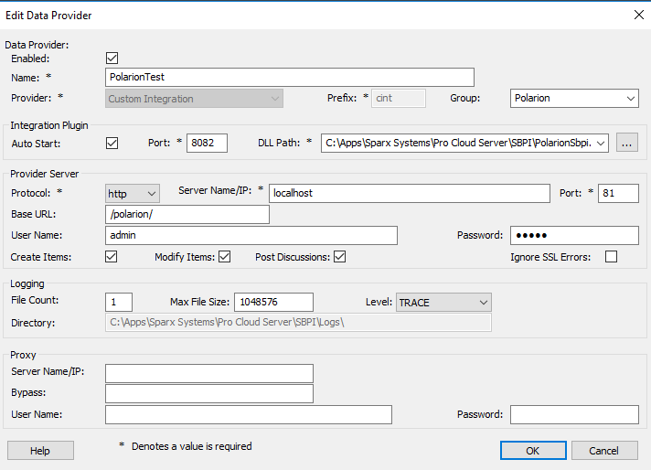 Add data provider details