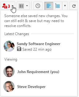 Collaboration Notification Red