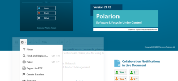 Intro Image - What is new in Polarion ALM 21 R2