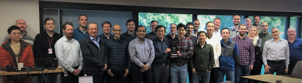 Tessent awarded by Samsung