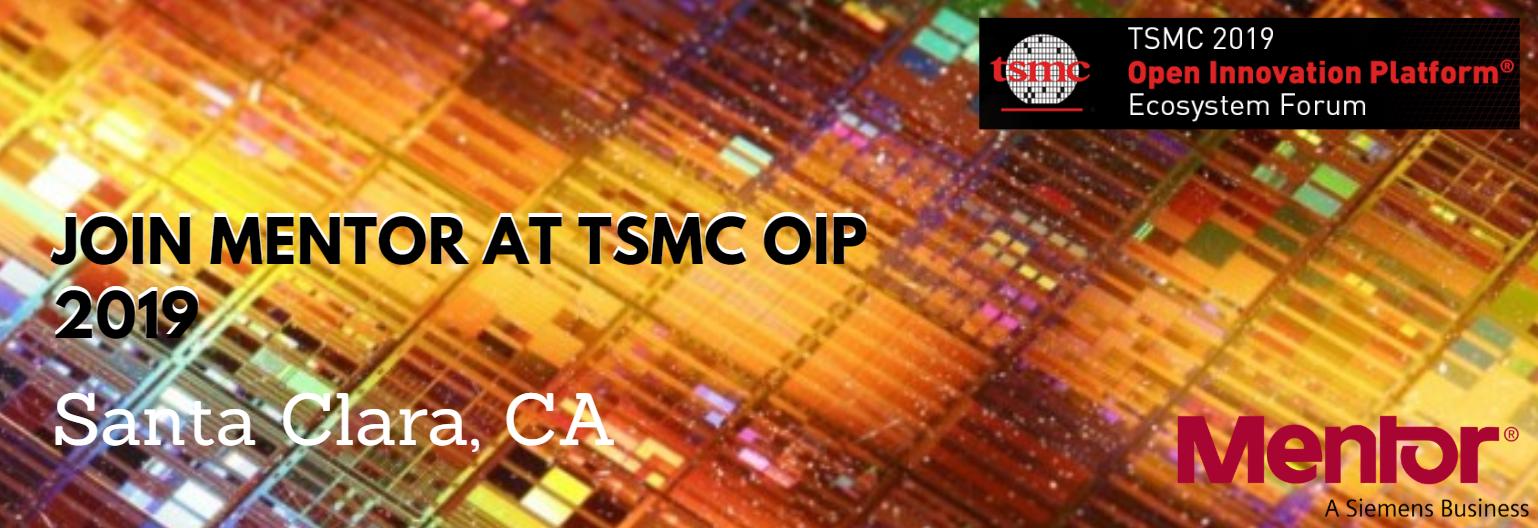 Join Mentor at TSMC OIP 2019