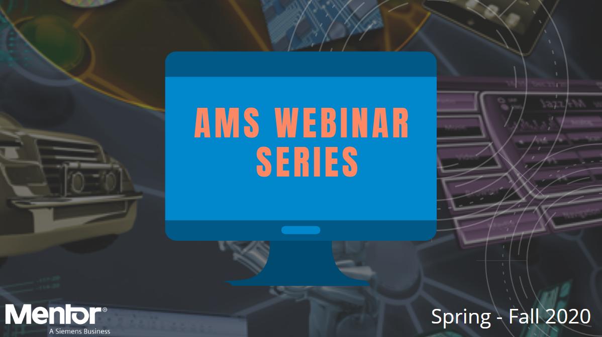 Knowledge is Power – Introducing Mentor AMS Webinar series