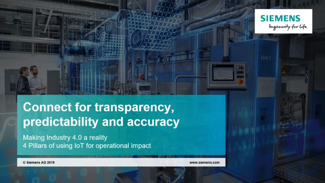 Using IoT for transformational change