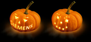 Siemens Pumpkin Stencil