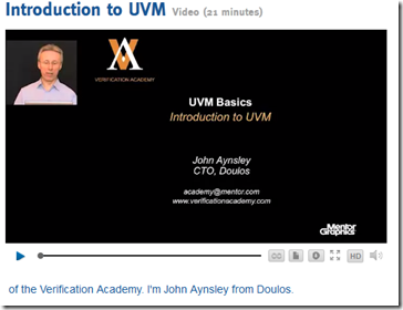 UVM Basic Intro CC