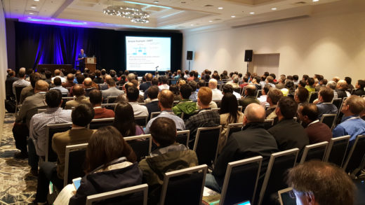Full house at the DVCon U.S. 2017 Portable Stimulus Tutorial