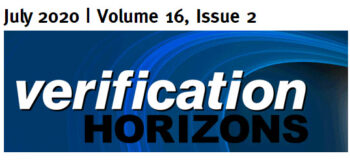 Verification Horizons DAC 2020 Issue Now Available