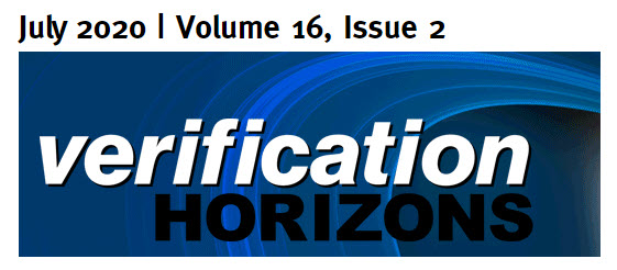 Verification Horizons - July 2020 Issue