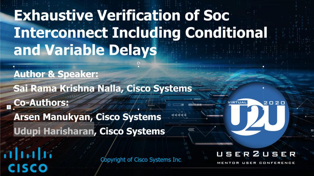 U2U 2020 - Cisco - Connectivity Check
