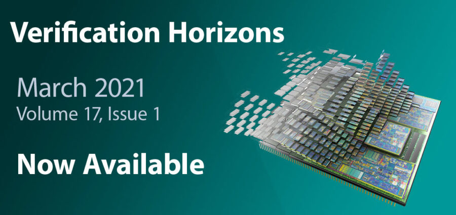 Now Available: Verification Horizons - March 2021