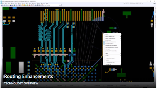 Layout Enhancements in PADS® Professional VX.2.7