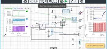 Model and Simulate LED Dimmer Circuits in the SystemVision Cloud!