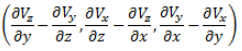 Vorticity vector definition