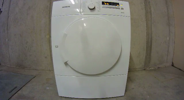 The door of a dryer