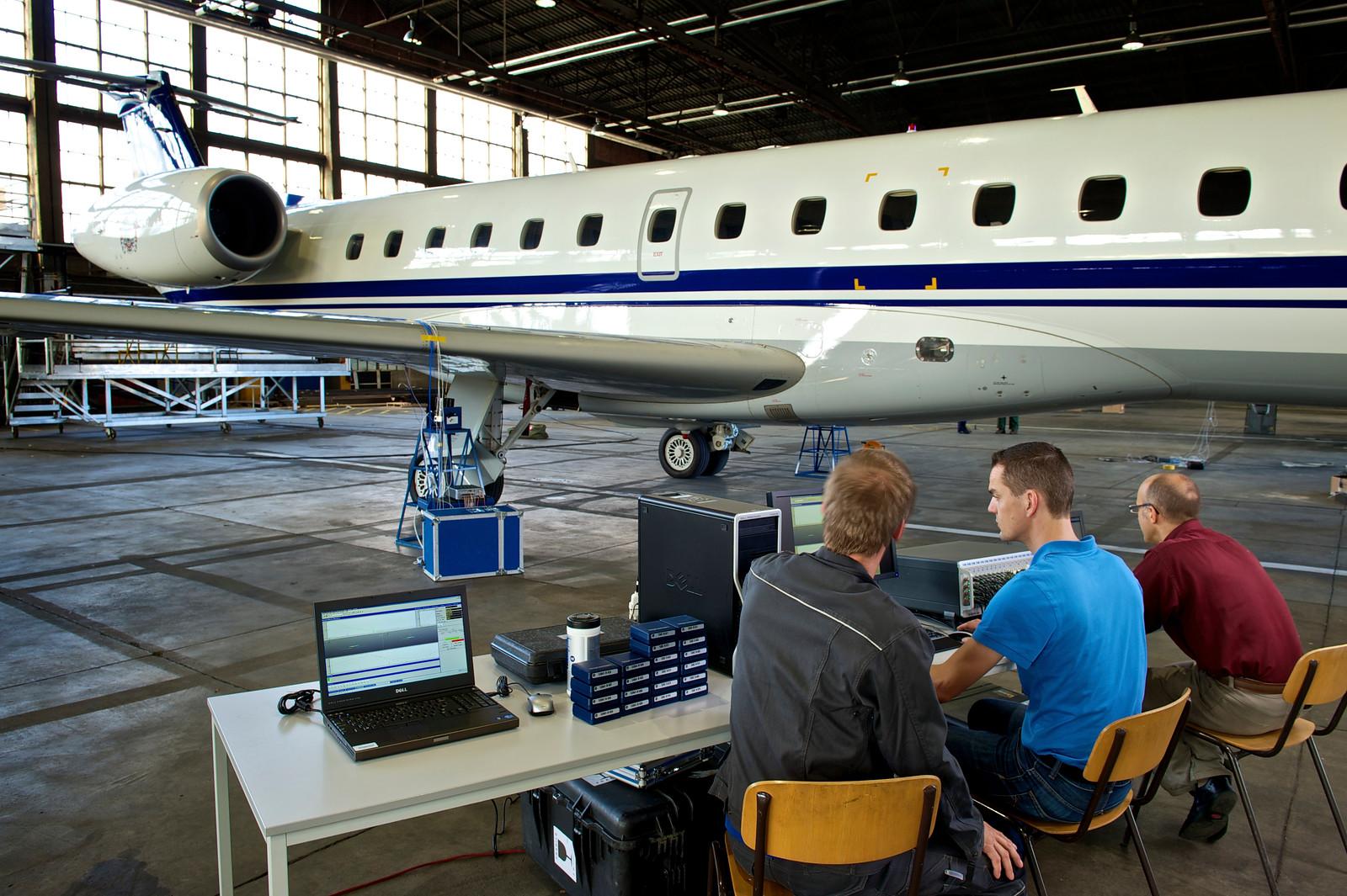 Ground vibration testing of an aircraft.jpg