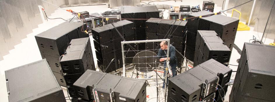 Simcenter Direct Field Acoustic Noise (DFAN) Test Setup.jpg