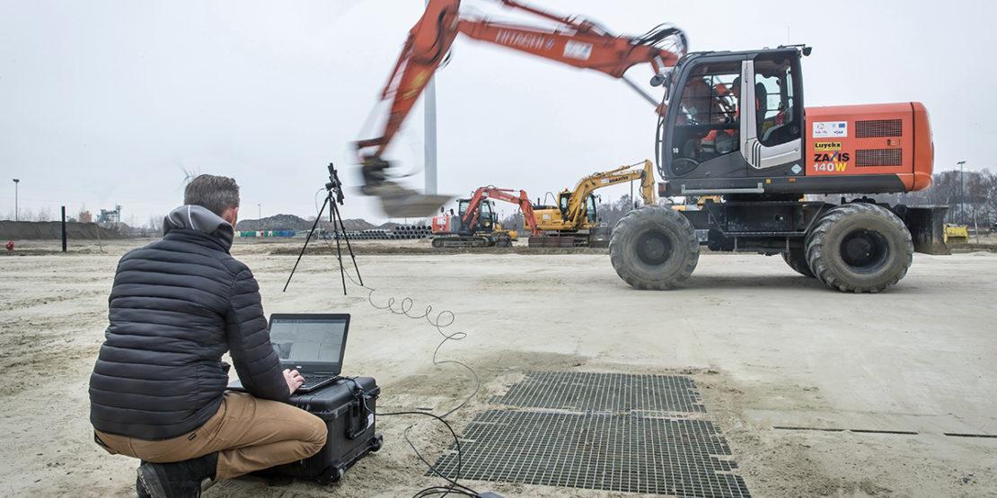 Construction equipment noise levels reduction
