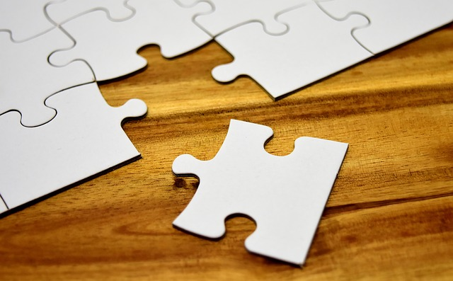 A puzzle with a missing piece as an example to show how testing efficiency can be hindered