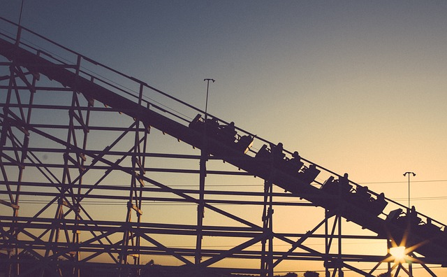 People on the ascent of a roller coaster don't like uncertainty