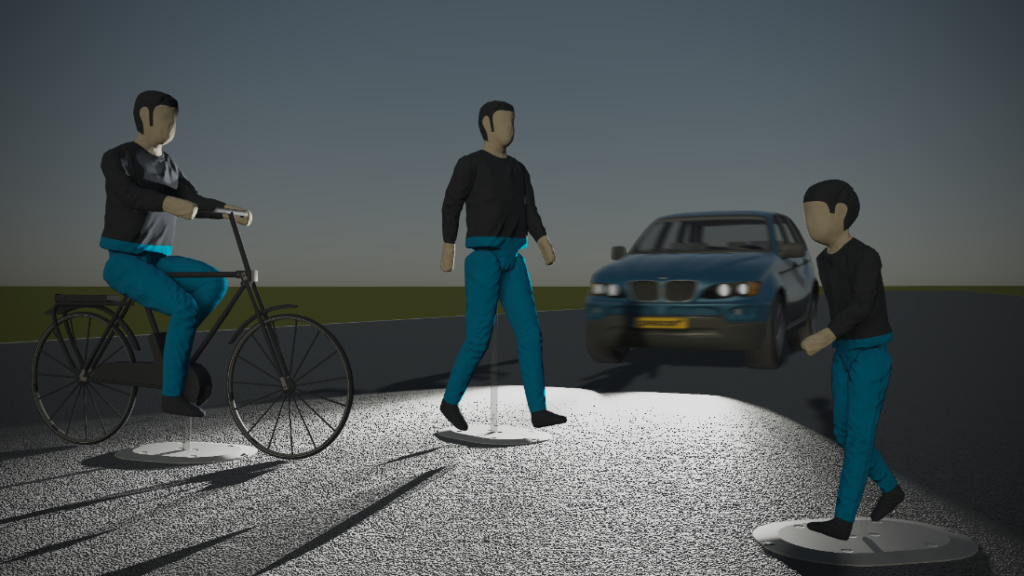 Prescan 2019.3 comes with three new NCAP models, which can be used to closely recreate real-life NCAP tests. The models are based on the latest rendering and come with automatically generated animations.
