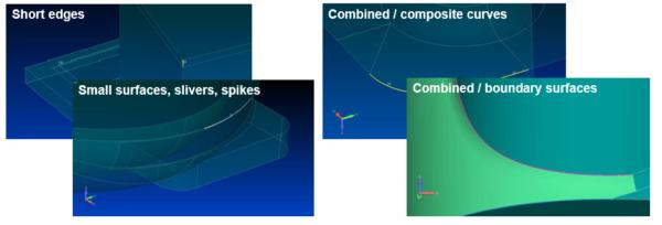 Simcenter Femap geometry repair