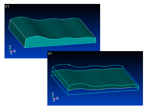 Simcenter Femap geometry idealization