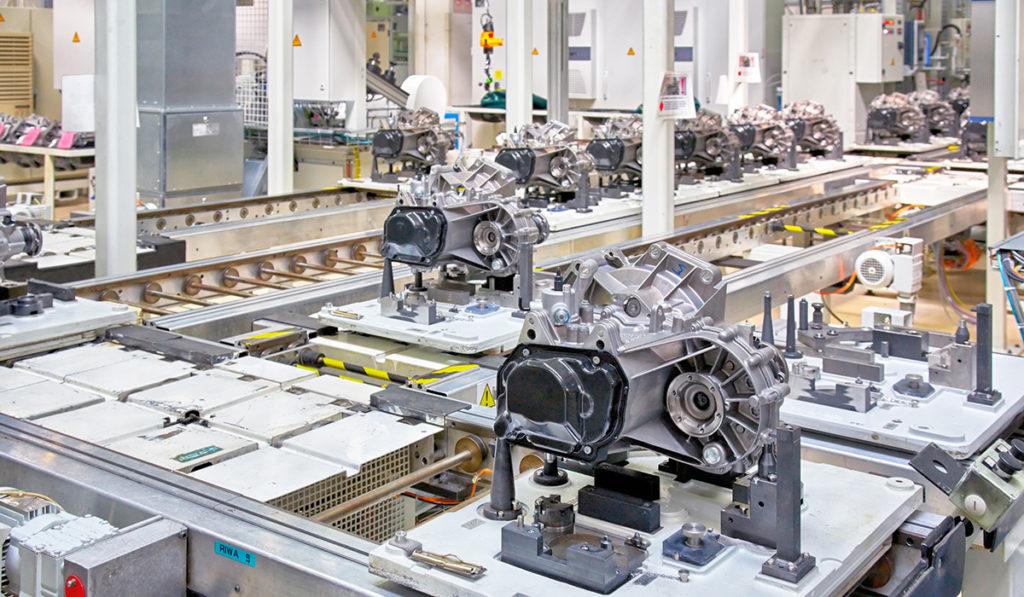 End-of-line transmission testing
