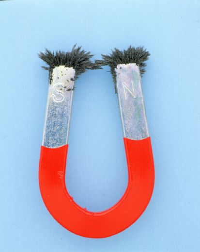 Magnetic field horseshoe magnet
