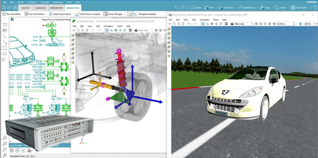 Objectively quantify chassis design changes and ensure a vehicle has precisely the desired requirements.