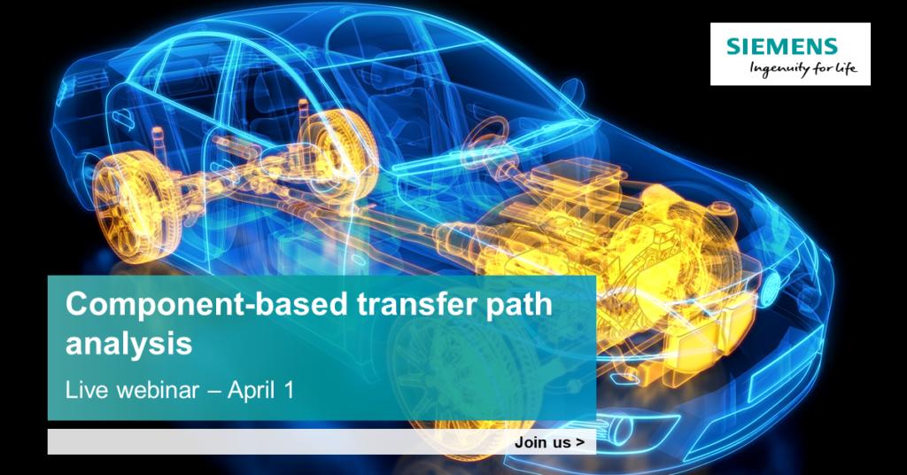 Component-based transfer path analysis (TPA) webinar