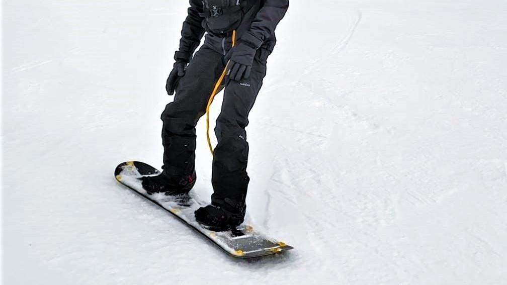 snowboard with Simcenter SCADAS XS