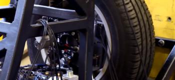 Predicting wheel loads by combining test and simulation