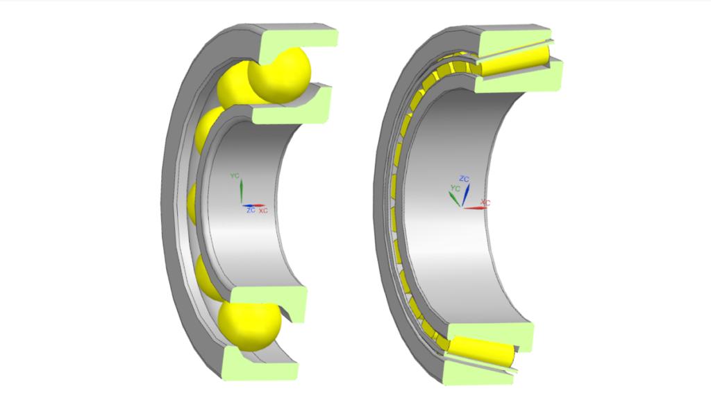 Angular Contact Ball Bearing and Tapered Roll Bearing