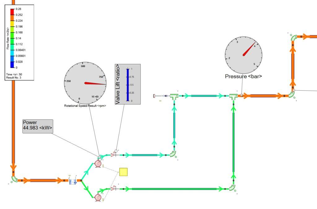 Simcenter Flomaster Live sensors