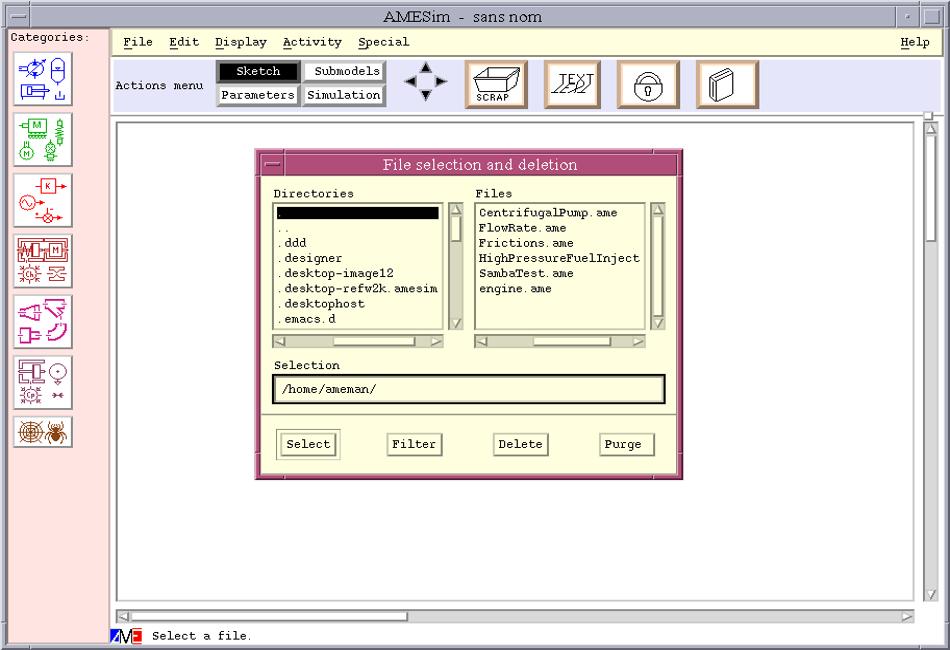 Simcenter Amesim screenshot