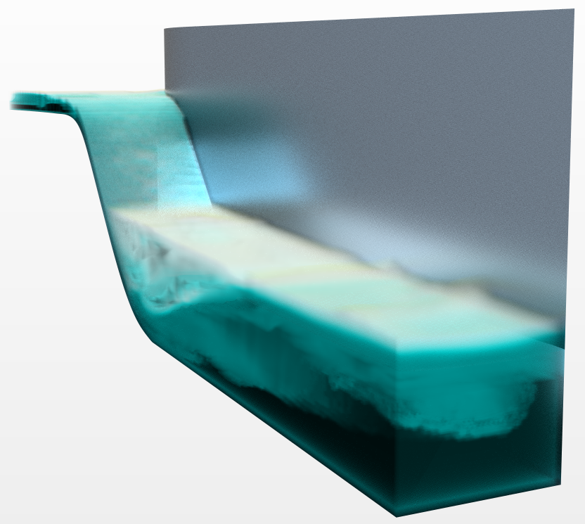 Spillway simulation with multiple regime model an alternative to hybrid multiphase
