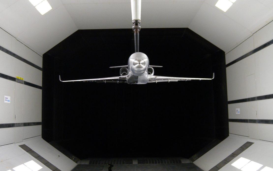 AD wind tunnel testing