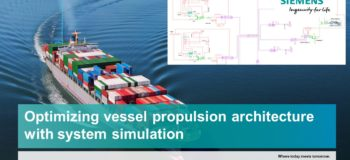 Webinar optimizing vessel propulsion power using system simulation