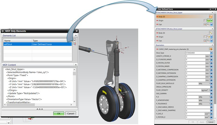 Simcenter 2020.2 supports easier implementation of user defined force formulations
