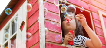 You will never regret time spent blowing bubbles
