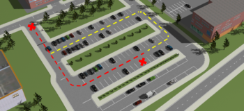 Improving Autonomous Valet Parking with simulation and testing
