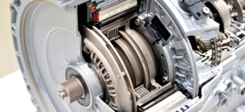 Cross-section view of an automatic transmission
