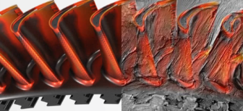turbomachinery cfd simulation creates art in motion