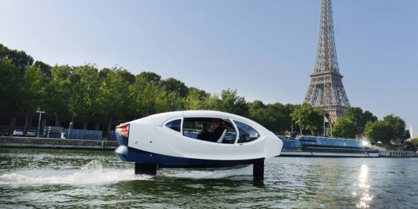 Seabubbles is a low speed, minimal wake, foiling taxi, designed to transport up to five people
