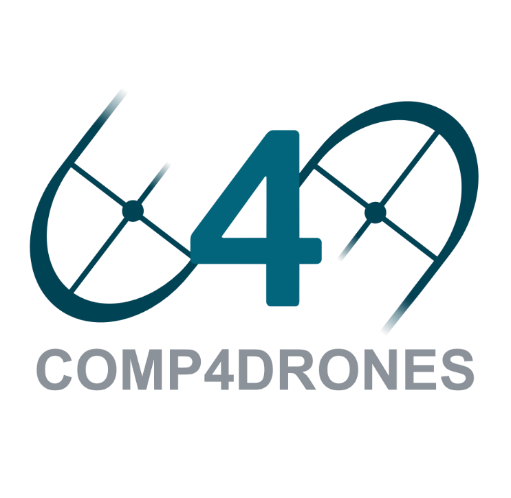 COMP4DRONES logo which you'll hopefully see soon in conferences and public events.