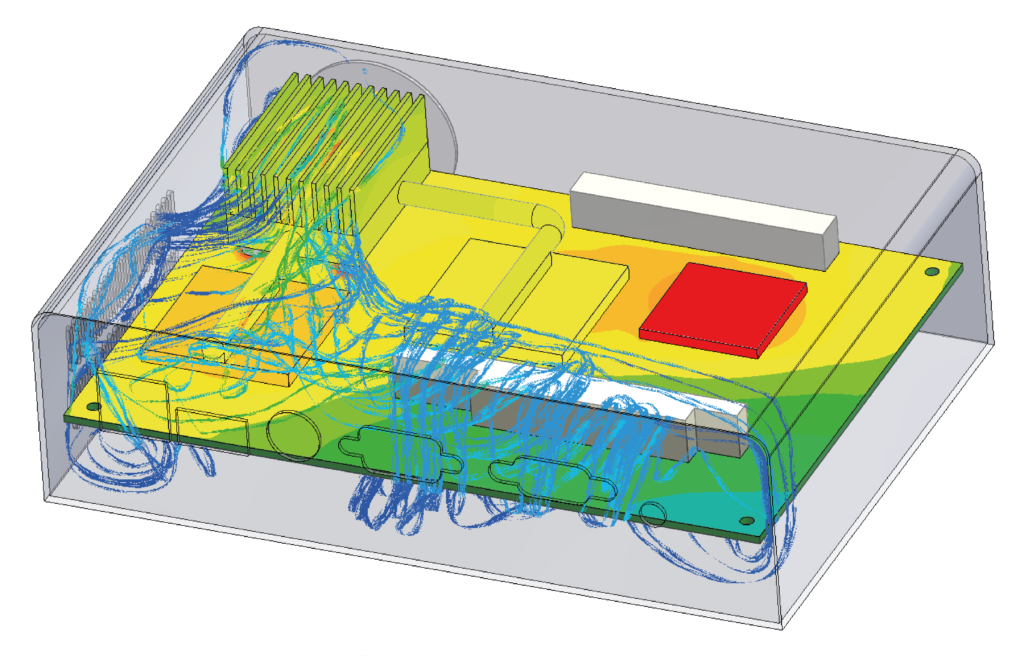 Thermostatic Control Model Results - Simcenter Flotherm XT