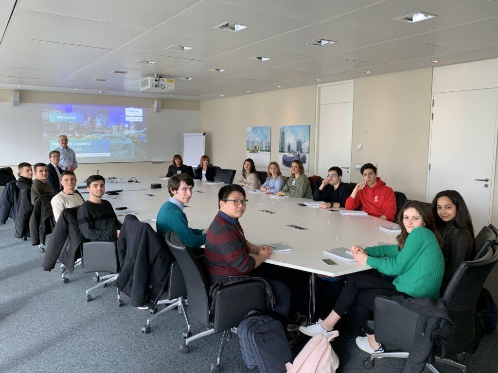 World Youth Skills Day - Tour of Siemens, Leuven