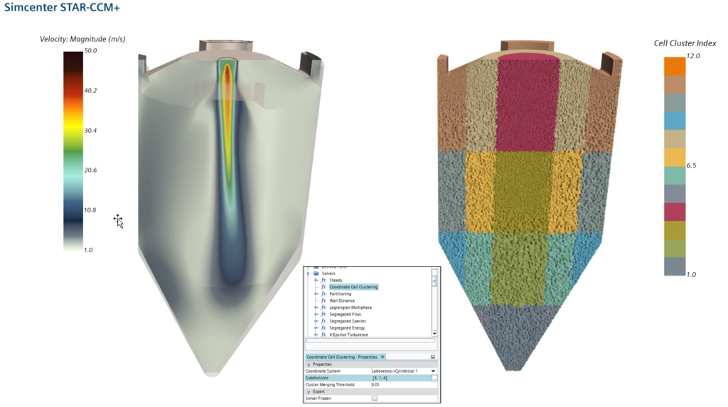 CFD with the possibility of a multi-zonal data export is one of the key enablers multiscale simulation in the process industry