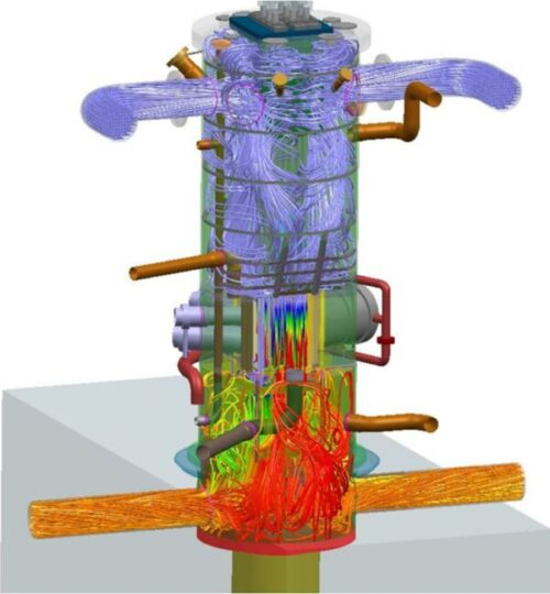 Simcenter FLOEFD for the engineer - Nuclear reactor