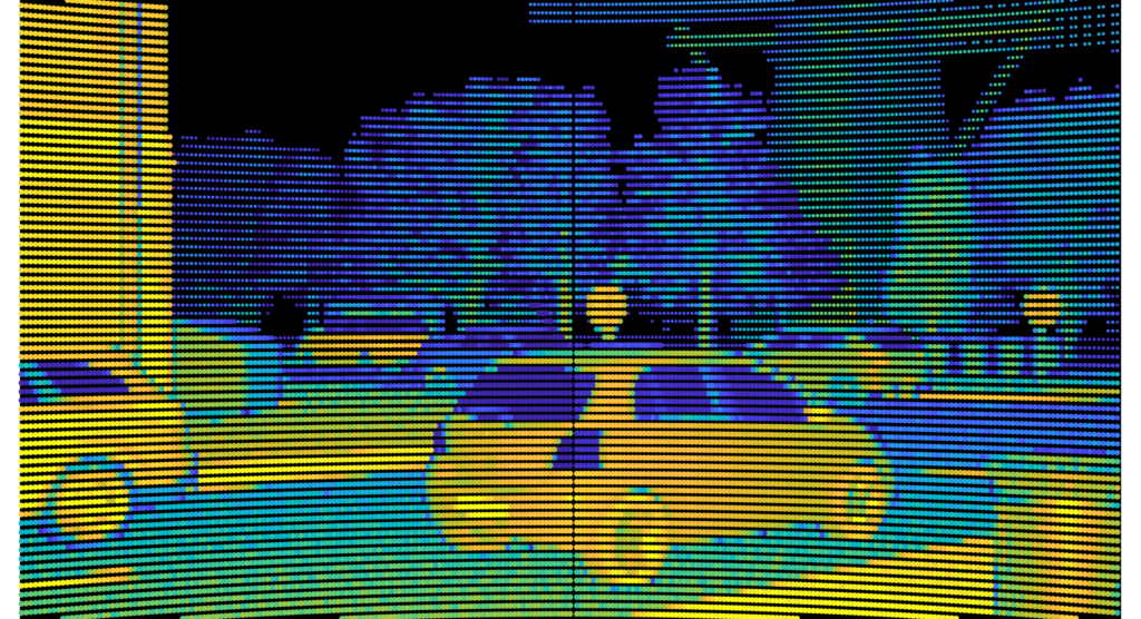 Prescan 2020.3 - Point cloud visualization Toyota